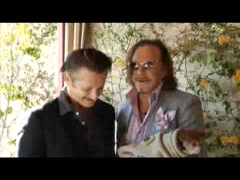 Mickey Rourke & Sean Penn Together