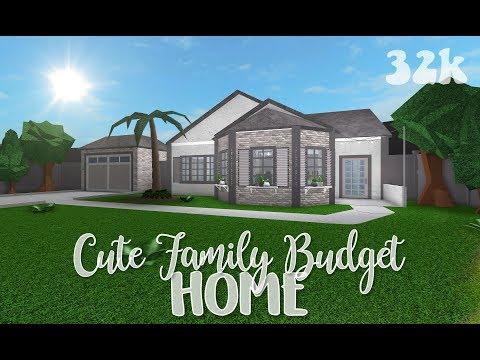 ROBLOX | Bloxburg: Cute Family Budget Home