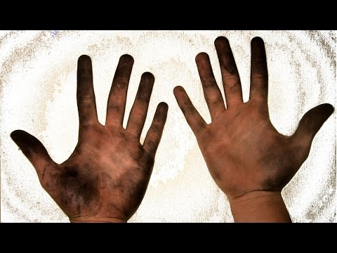 How to wash dirty hands? Easy tip for children