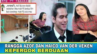 Download lagu Dibalik layar | Rangga Azof dan haico Van der veken kepergok berduaan | amem tv