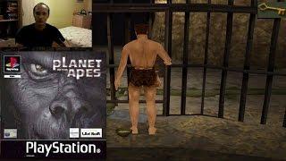 ИГРА ПЛАНЕТА ОБЕЗЬЯН - Краткий показ Planet of the Apes PSX PlayStation One