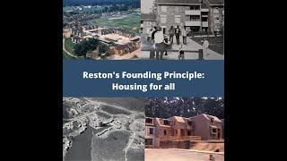 Reston's Founding Principle: Housing For All