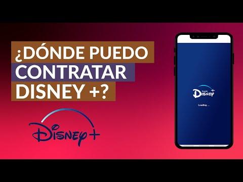 Dónde Puedo Contratar o Comprar Disney Plus