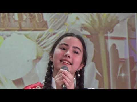 Mini Miss Ailin Video For Kids. Поет Саида Мухаметзянова, Последний звонок нашей старшей дочери