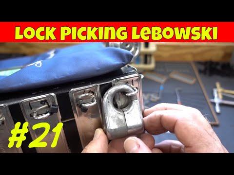 1564) Dude's Treasure Chest Lock #21 - YouTube