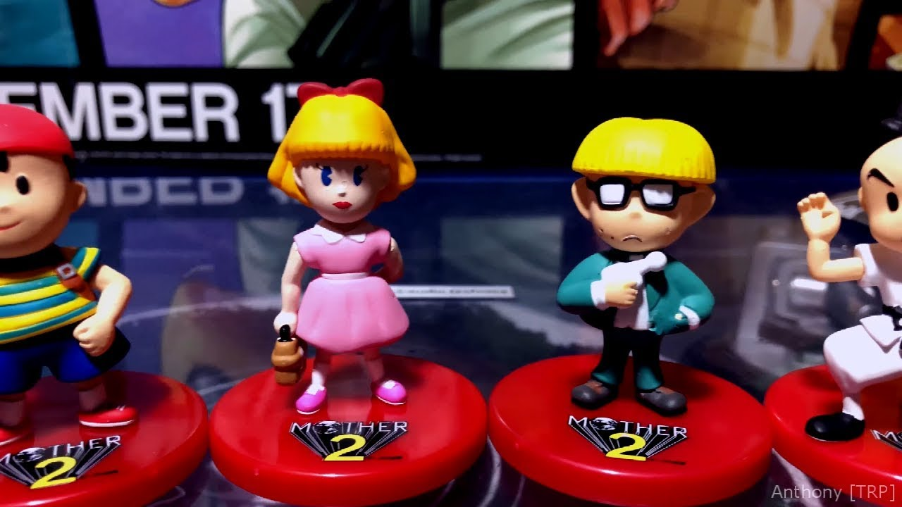 Unboxing: MOTHER 2 Gachapon Figure Set (Takara Tomy A R T S, 2014)