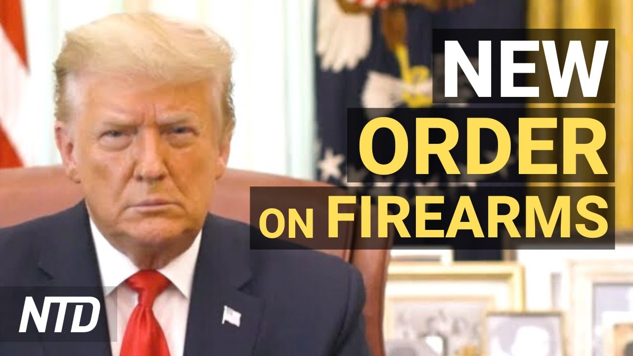 Trump Signs New Order on Firearms; Undercover Video: Twitter Exec. Promises to Step Up Ban | NTD