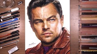 Drawing Leonardo DiCaprio | drawholic