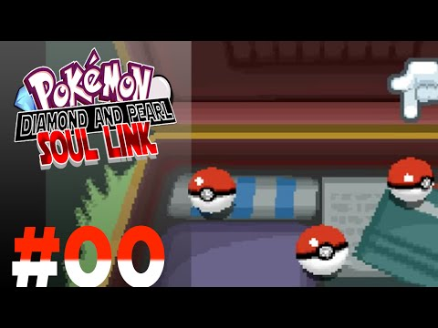 Pokémon Diamond & Pearl Soul Link Randomizer  #00 - Com qual Pokémon Começar?