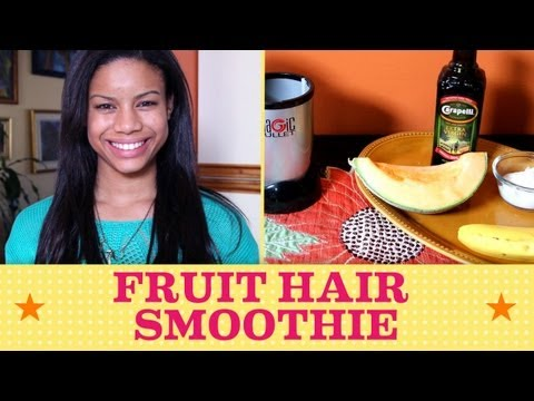 Want Healthy  Hair? Give it a Fruit Smoothie | Seventeen's Get Cute With Chloe