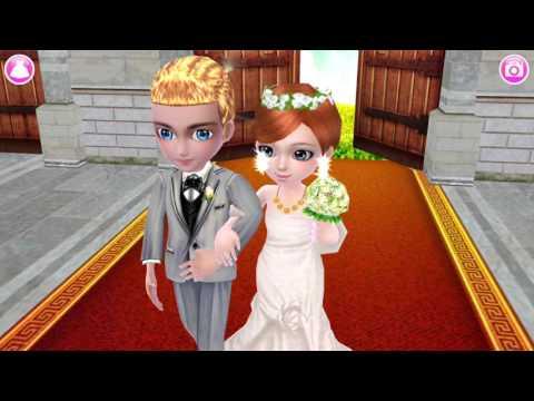 เกมส์ แต่งตัวเจ้าสาว แต่งหน้า ทำผม เปลี่ยนชุด แต่งงานในโบส