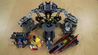 LEGO Batman Movie - Batcave Break-In (70909) Unboxing & Review