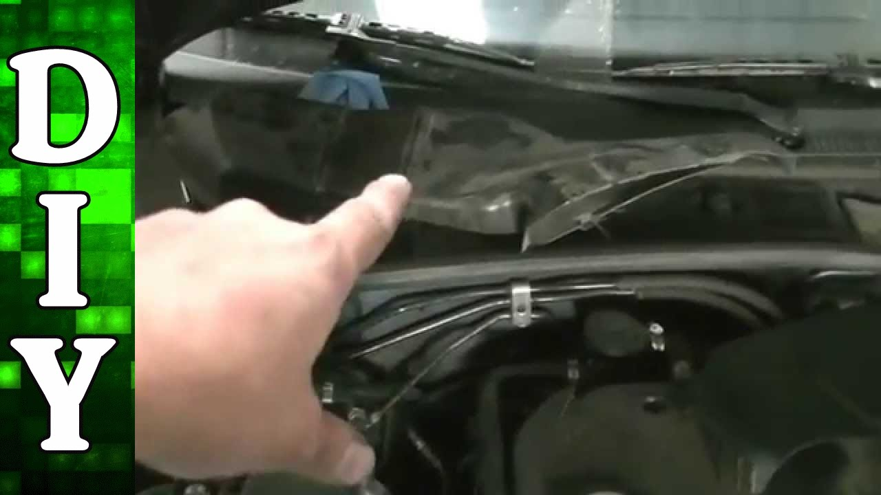How To Replace A Head Light Bulb On Vw Pat