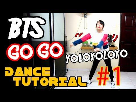 BTS GO GO DANCE TUTORIAL FULL MIRRORED Part 1 | TAMA CHANN