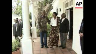Michael Jackson Visits Mandela, Dalai Lama Meets Nelson Mandela, President Mandela's Romance With Gr