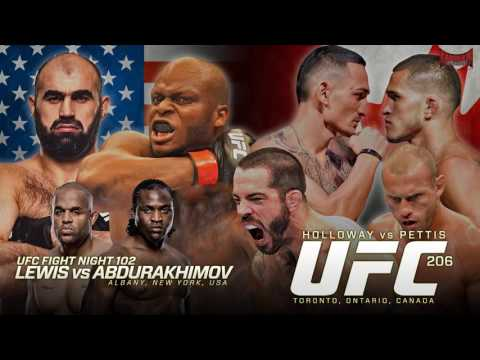 UFC 206 and UFN 102 Predictions- Kamikaze Overdrive MMA