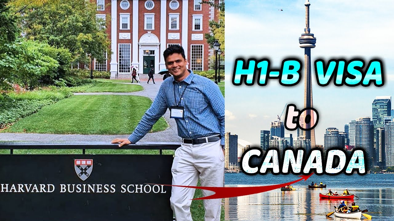 Canada After MBA in USA: H1B to Canadian PR! Ft. Harvard Grad