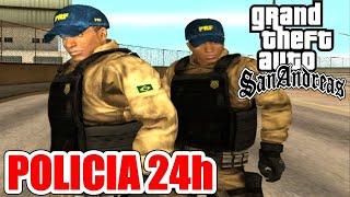 POLICIA 24 HORAS MOD - CONFERINDO A NOVA VERSÃO - GTA SAN ANDREAS