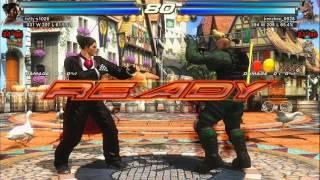 Tekken Tag Tournament 2 - Online Replays (PS3) f/ Harry Potter, kenchan