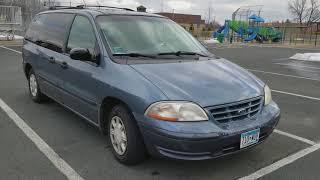 Наш американский Ford Windstar за 400$.  Сколько стоит авто в США.