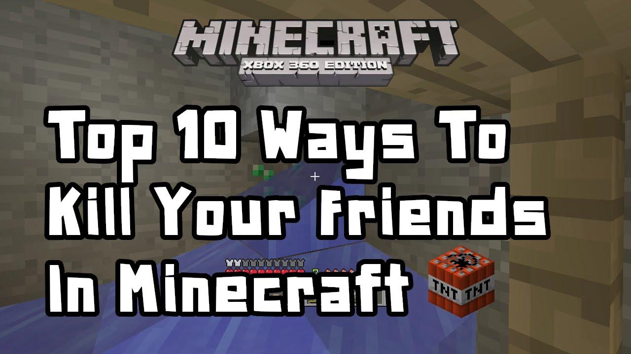 Minecraft Xbox 12 - Top 12 Ways To Kill Your Friends In Minecraft w/Arthur