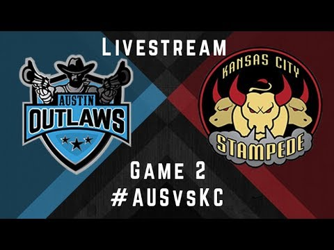 Austin Outlaws v Kansas City Stampede - Livestream - Game 2, 2017 MLQ Regular Season