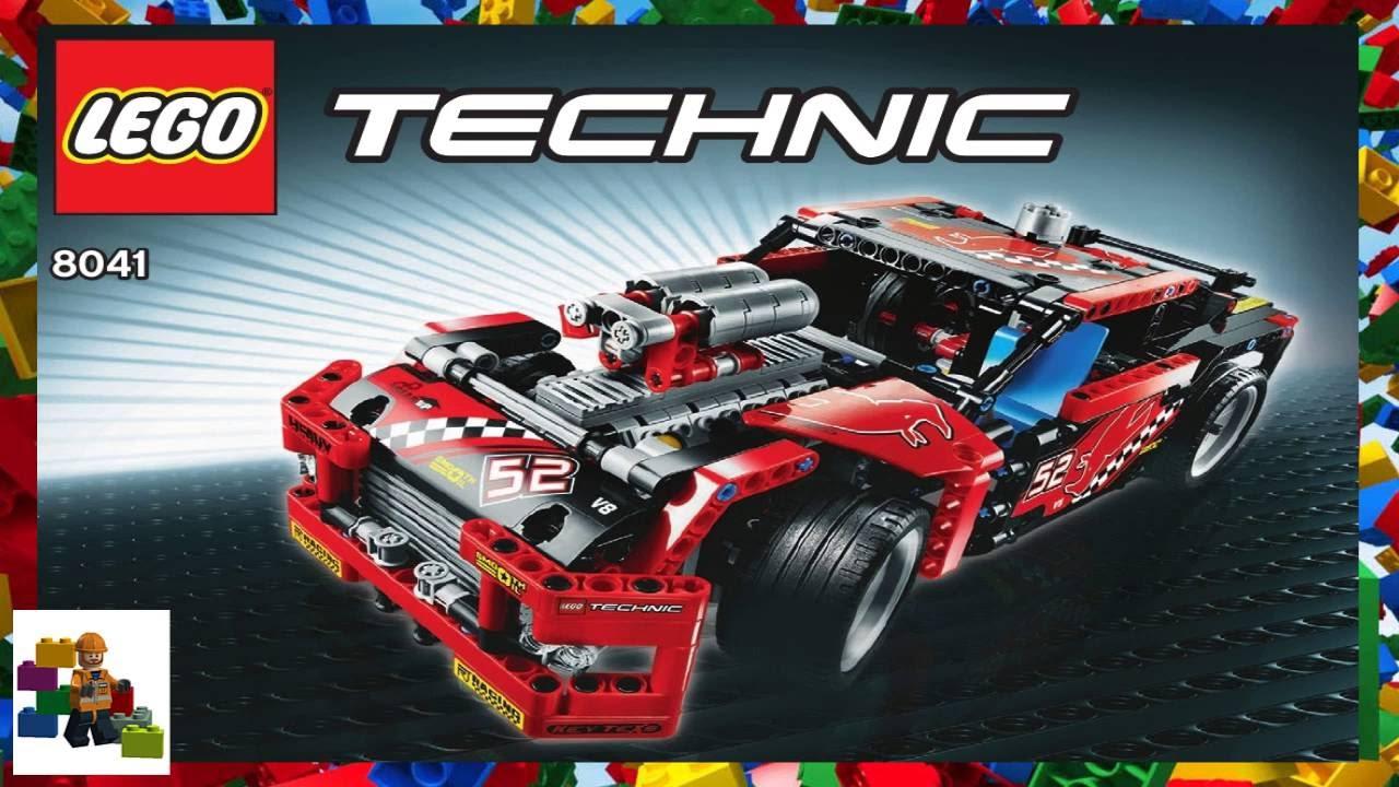 Image Of Lego Technic Race Car Instructions Race Car 42011 LEGO