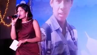 anchor maahi hosting bday party at agra