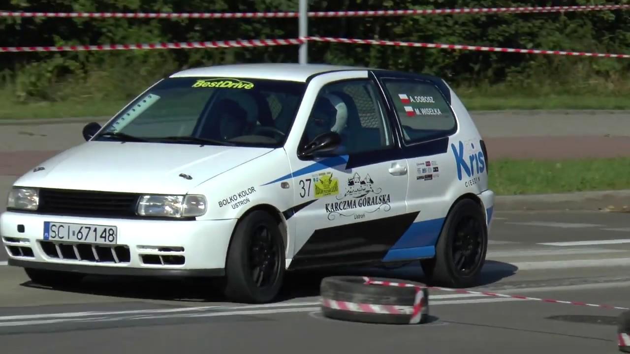 4 Runda RPŚl 2017 – Jastrzębie-Zdrój – Andrzej Dobosz / Marek Wisełka – VW Polo