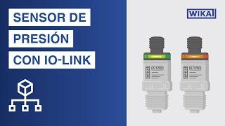 Sensor de presión con IO-Link, salidas de conmutación PNP o NPN | Modelo A-1200