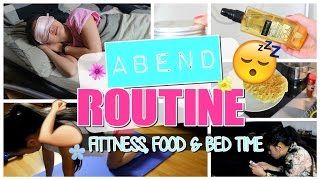 MEINE ABENDROUTINE - 5 MINUTEN REZEPT, FITNESS & BED TIME mit LaurenCoCoxo | by Nhitastic