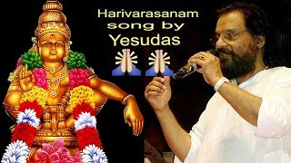 Harivarasanam song live by K.J.Yesudas | Must watch devotional song