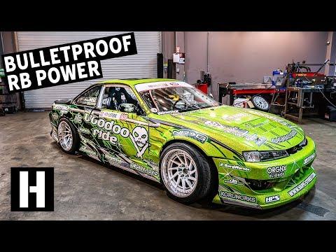 Bulletproof 600hp RB25-Powered S14: Ryan Litterals Rowdy Drift Car