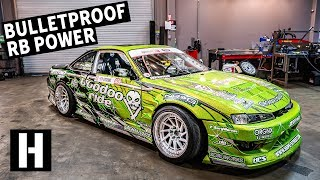 Bulletproof 600hp RB25-Powered S14: Ryan Litteral's Rowdy Drift Car
