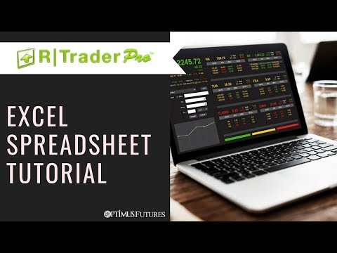 R Trader Pro - Live Futures Quotes & Data With Excel Spreadsheets