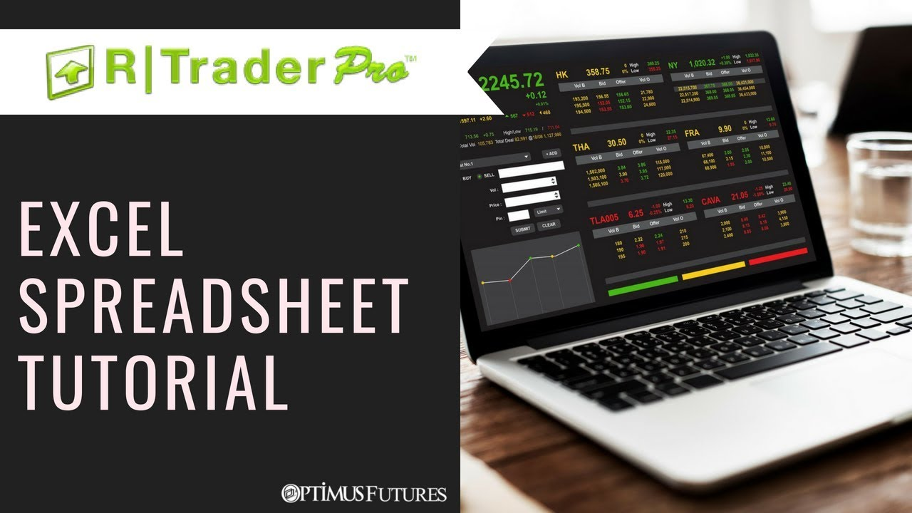 Real Time Futures Quotes R Trader Pro  Live Futures Quotes & Data With Excel Spreadsheets