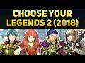 Choose Your Legends 2 (2018) - Brave Hector, Celica, Ephraim, & Veronica | Banner Breakdown