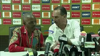 Kocha wa JS Saoura akemea vyombo vya habari vya Tanzania baada ya kichapo cha Simba CAF CL   YouTube