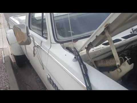 Windshield wiper arm removal and wiper fix 1985 Ram D350