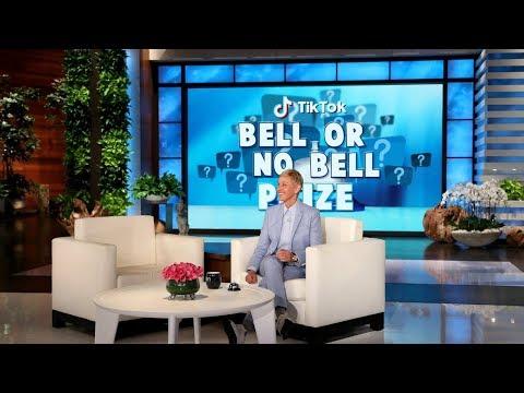 Ellen Rates Videos in 'TikTok Bell or No Bell Prize'