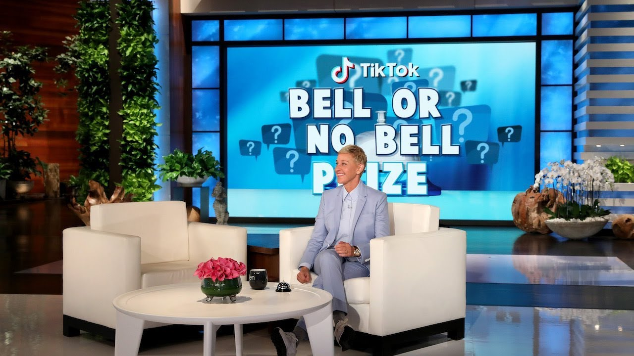 Ellen Rates Videos in 'TikTok Bell or No Bell Prize'