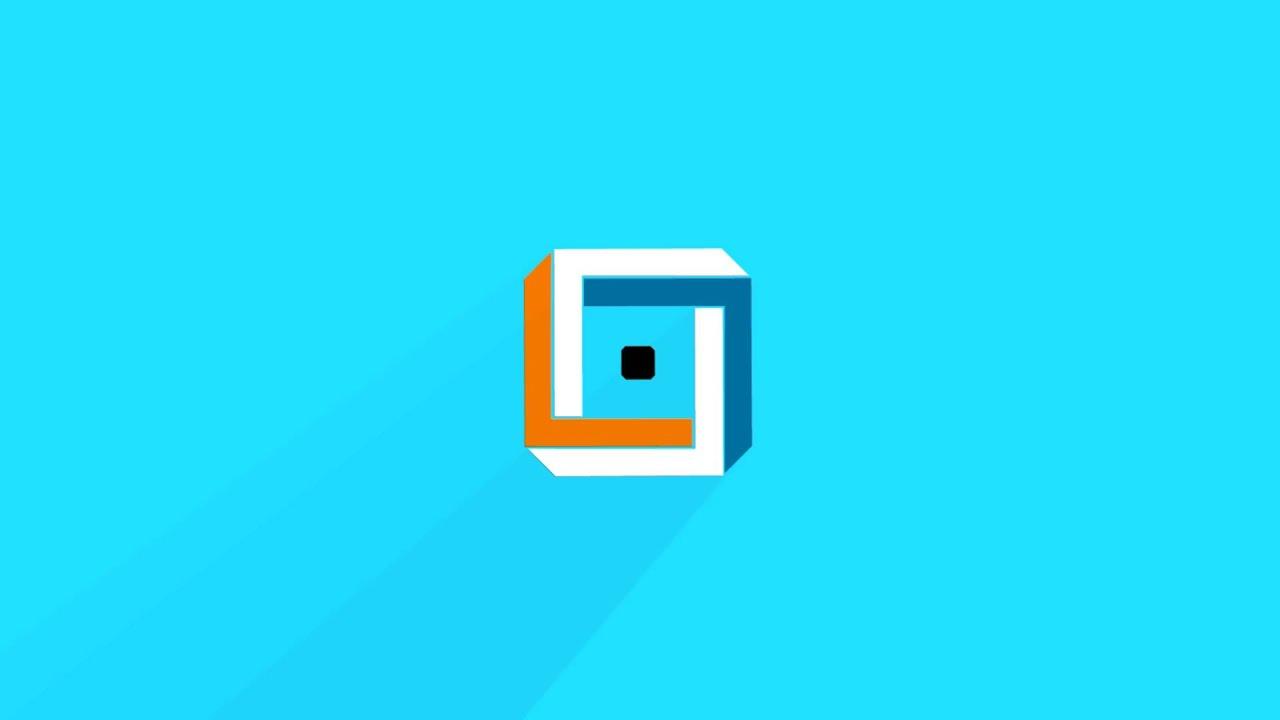 Optical Illusion Logo Reveal Template - YouTube  Optical Illusion Logo