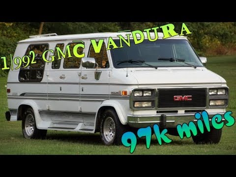 1992 gmc vandura 2500 conversion van rv 97k miles youtube. Black Bedroom Furniture Sets. Home Design Ideas