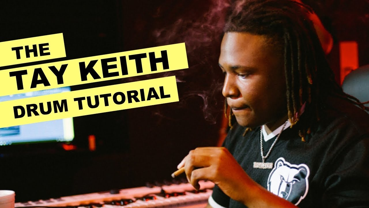 The Tay Keith Drum Pattern Tutorial + Drum Kit - How To Make