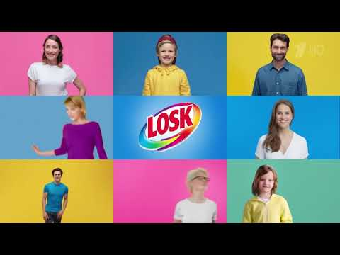"""Стиральный порошок """"Losk"""" до 40% свежести - рекламный ролик"""