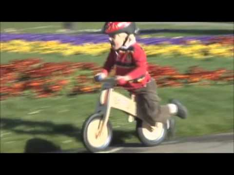 Diggin Active Skuut Wooden Balance Bike Youtube