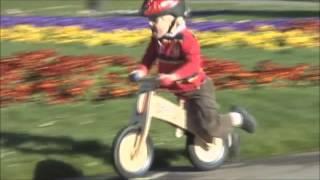 Diggin Active:  Skuut Wooden Balance Bike