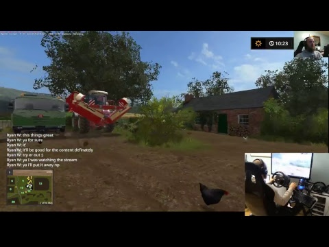 farming simulator 17 lets play drumard farm sever  mod update and new mower