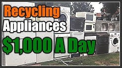 Recycling Appliances for $1000 A Day   THE HANDYMAN  