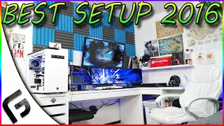 ULTIMATE GAMING SETUP 2016 - BEST SETUP - Frosted Gaming